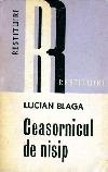 Blaga Ceasornicul de nisip _ http://societateablaga.ro/Poze/carti/Ceasornicul_de_nisip.jpg