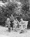 Lucian Blaga si Mircea Eliade cu sotiile la Berna _ http://societateablaga.ro/Poze/carti/Lucian_Blaga_si_Mircea_Eliade_cu_sotiile_la_Berna.jpg